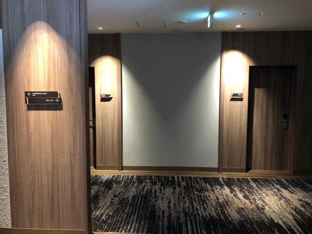 伊豆マリオット修善寺廊下