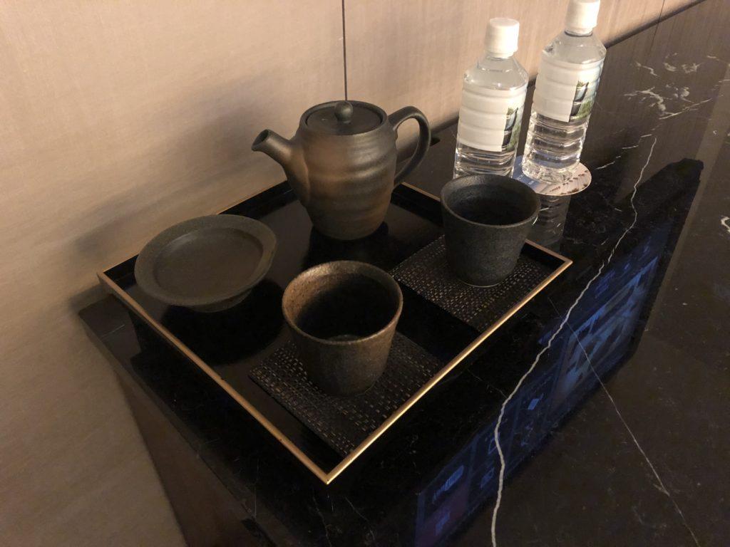 ウェスティンホテル仙台 部屋に備えつきのお茶セット