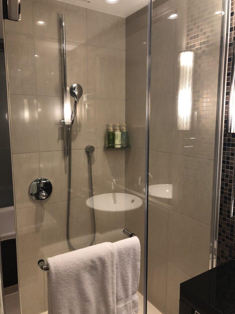 ウェスティンホテル仙台 シャワールーム