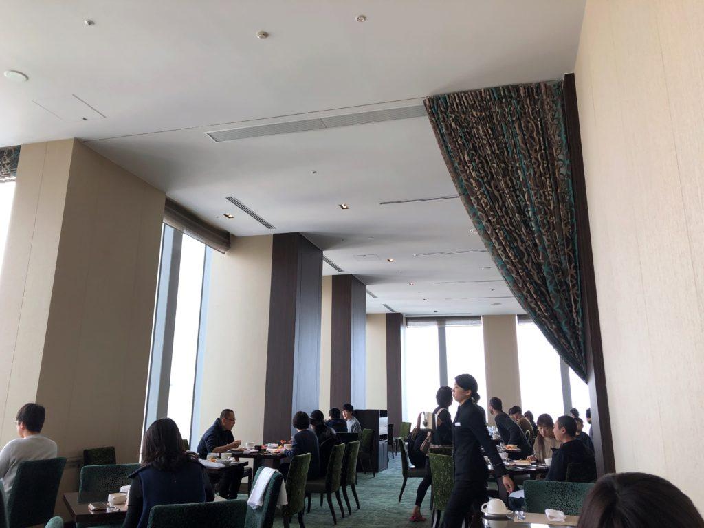 ウェスティンホテル仙台 朝食スペース