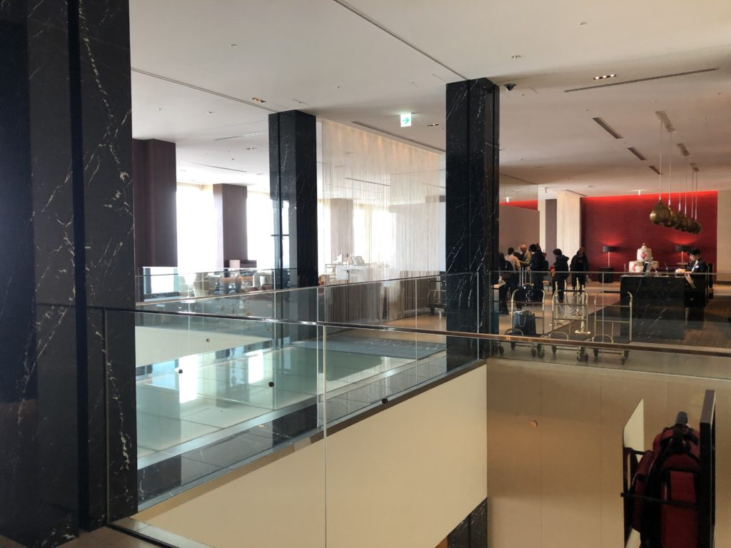 ウェスティンホテル仙台、廊下スペース