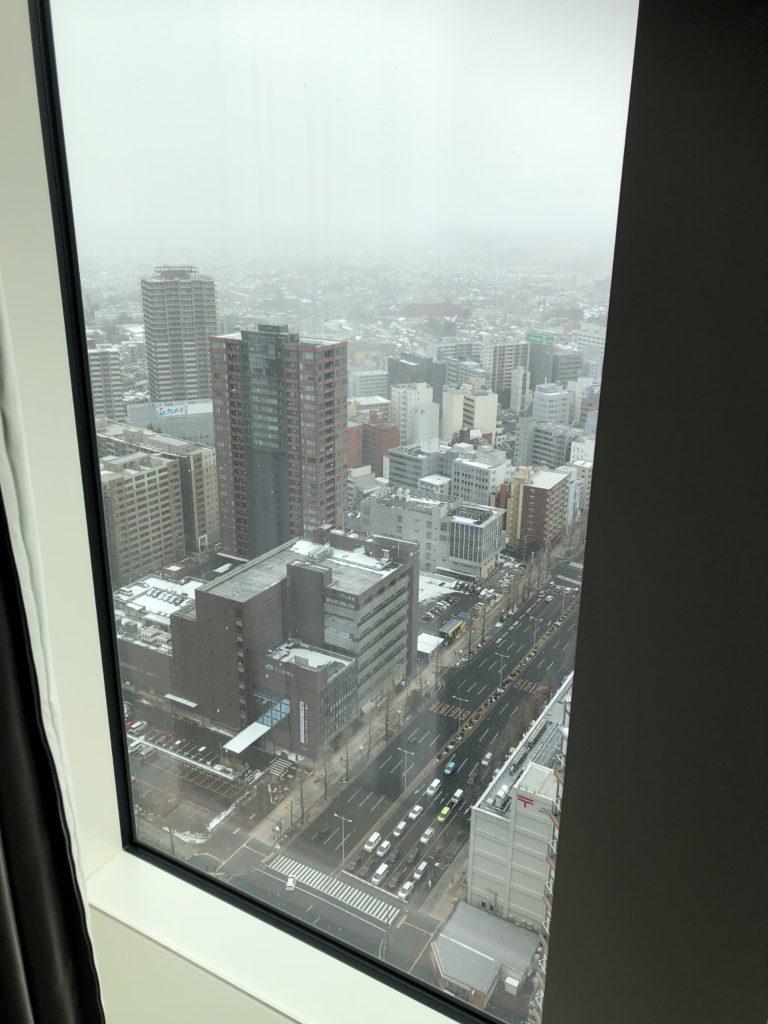 ウェスティンホテル仙台 部屋から見た景色②