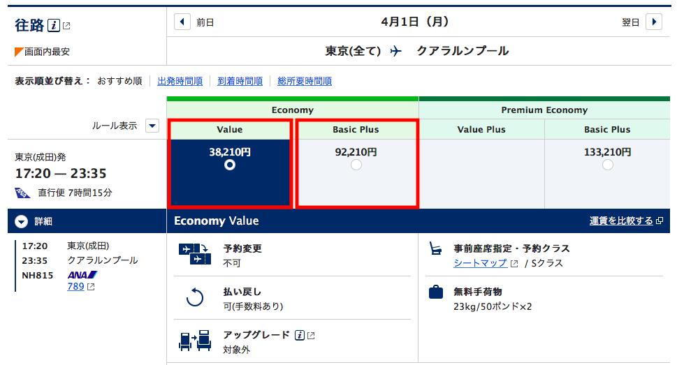 海外旅行におけるチケットの種別について。