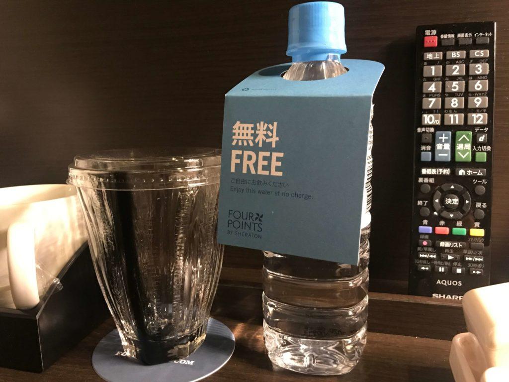 無料のペットボトル1本