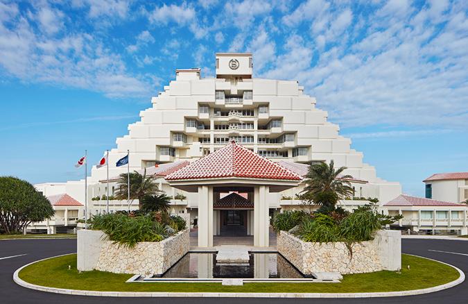 シェラトンホテル建物全体画像
