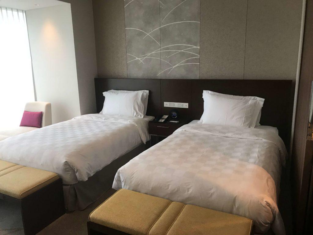 マリオット都ホテル、ツインベッド