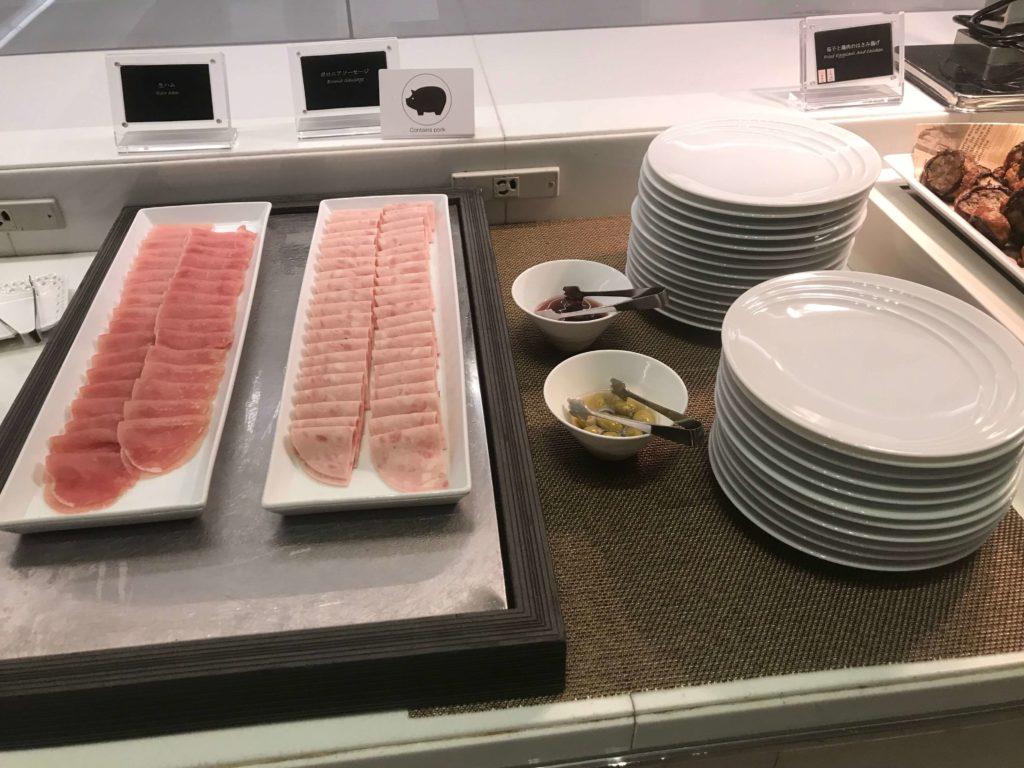 大阪マリオット都ホテル。ラウンジ、食事⑤