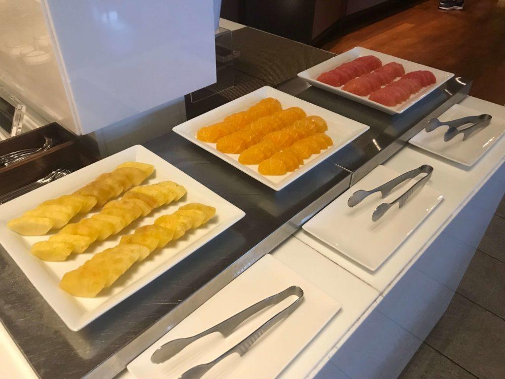 大阪マリオット都ホテル。ラウンジ、食事⑦