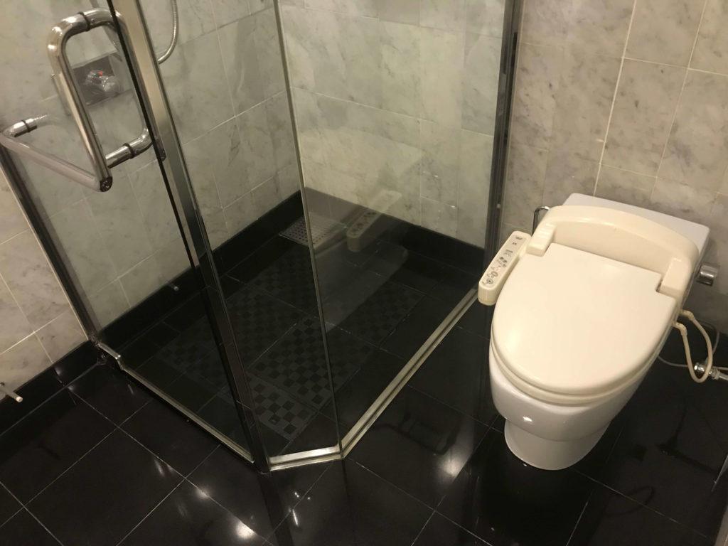 ウェスティン大阪。トイレ。
