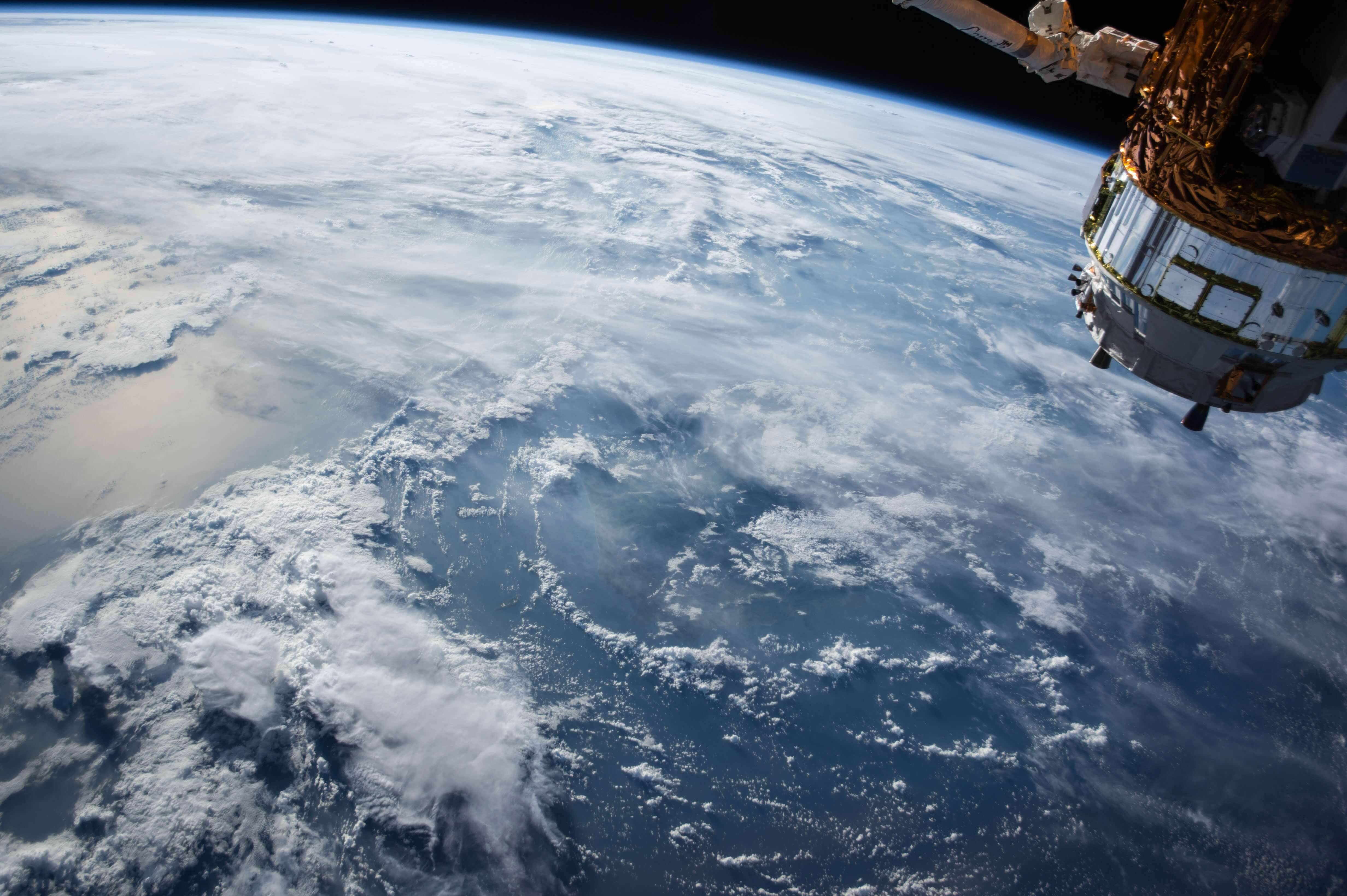 宇宙から見たら。アイキャッチ。