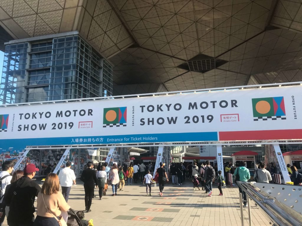 東京モーターショー。