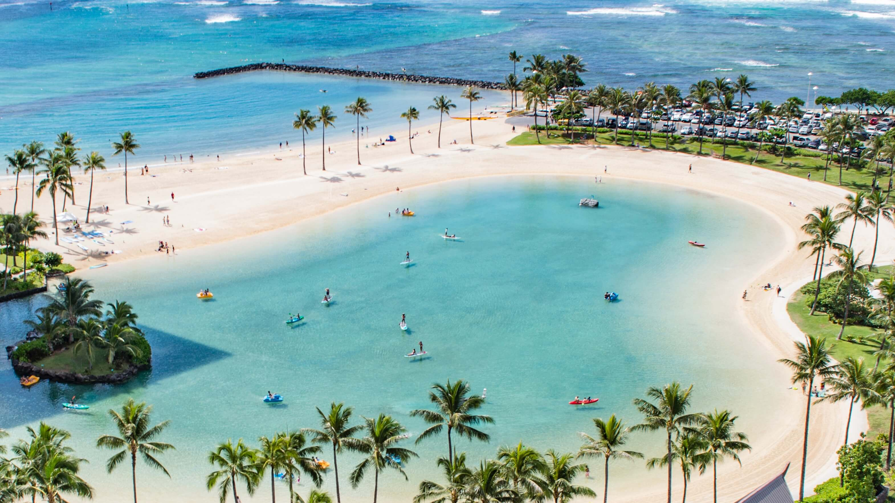 20万マイルを貯めてハワイにビジネスクラスで行こう