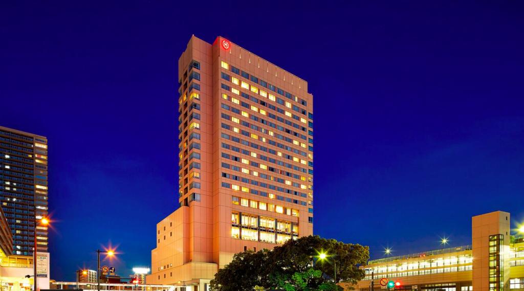 シェラトングランデホテル広島。外観画像