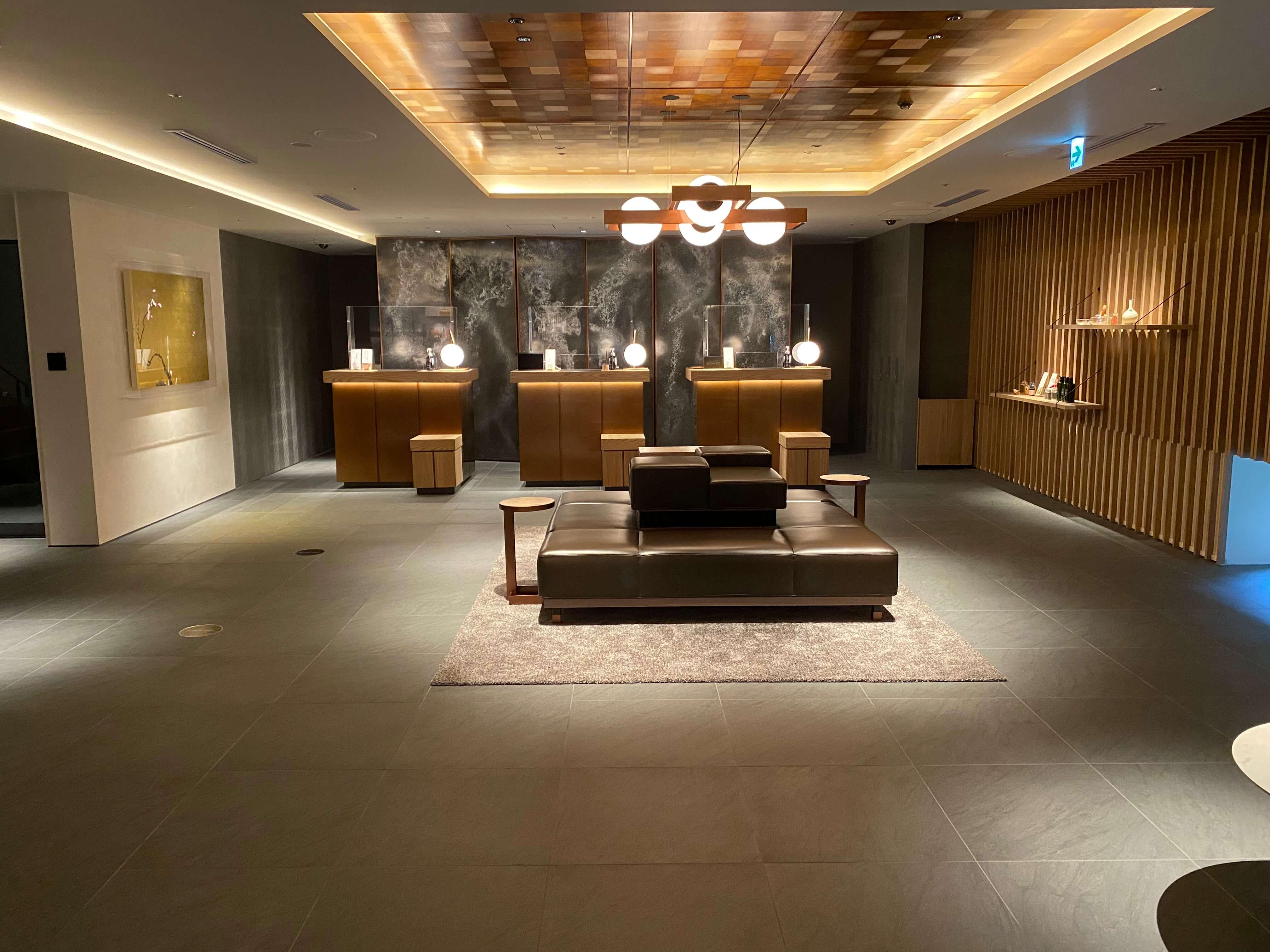 HIYORIチャプター京都 トリビュートポートフォリオホテル フロント